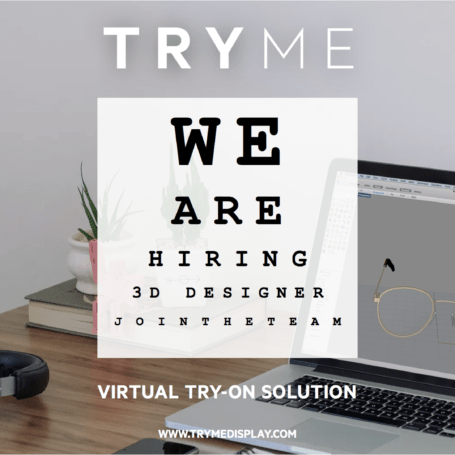 TRYME SOLUTIONS is hiring a sales manager virtual try-on solution